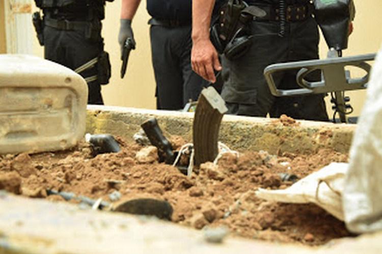 +Fotos: Encuentran armas enterradas dentro del penal de Reynosa Tamaulipas