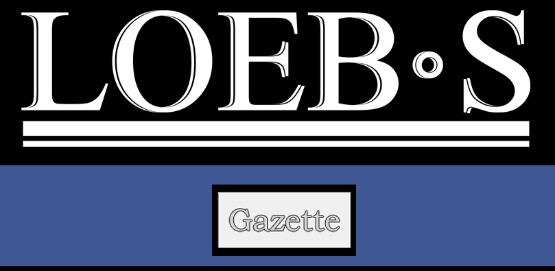 Gazette by LOEB'S - Blog