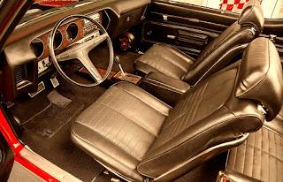 1971 Pontiac LeMans Sport Convertible Interior Cabin