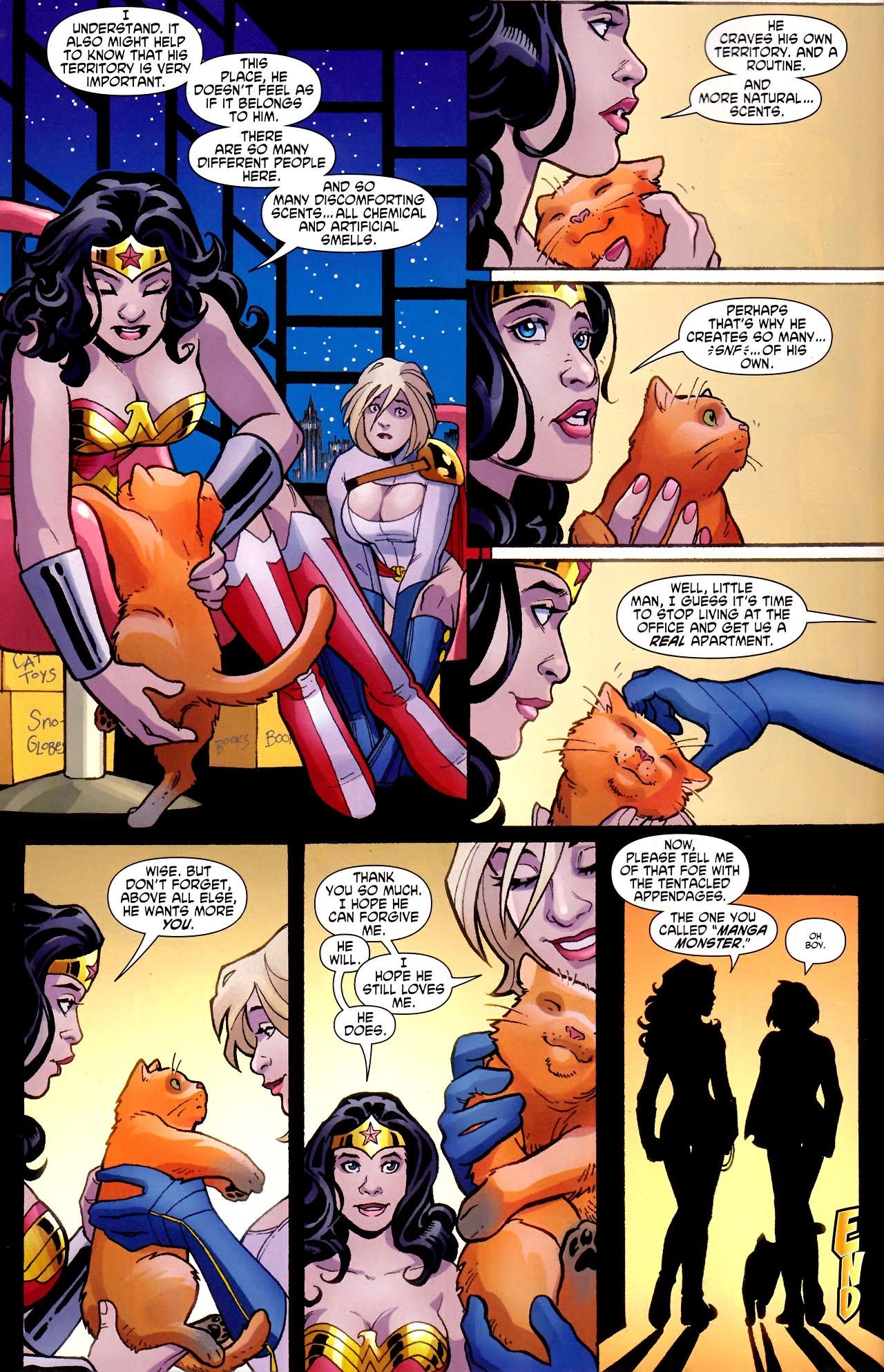 Read online Wonder Woman (2006) comic -  Issue #600 - 16