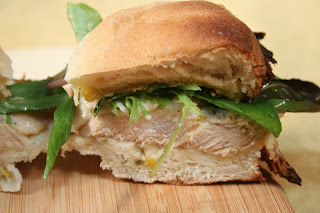 Fennel seed crusted pork sandwiches with salsa verde | Healthy Pork Recipe