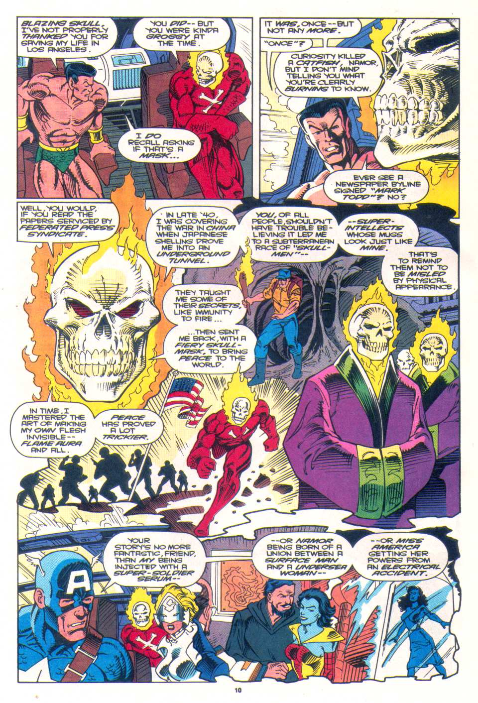 Read online The Invaders (1993) comic -  Issue #3 - 9