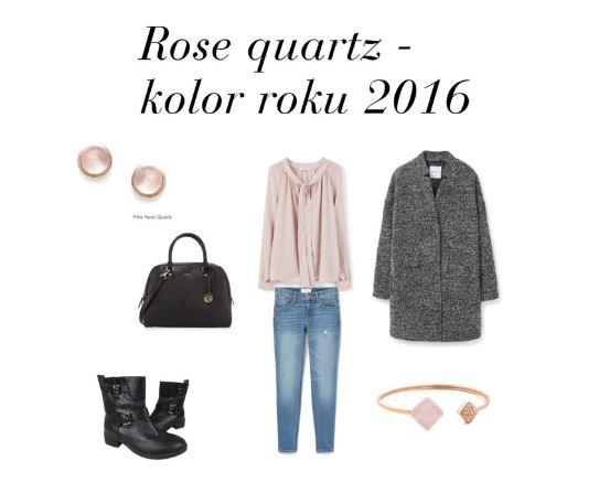 Rose quartz stylizacja modowa najmodniejszy kolor pantone netstylistka