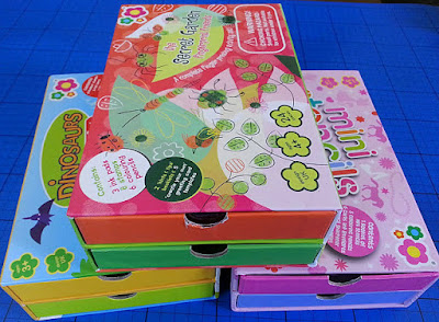 childrens filled craft box with drawers from Meadow Kids