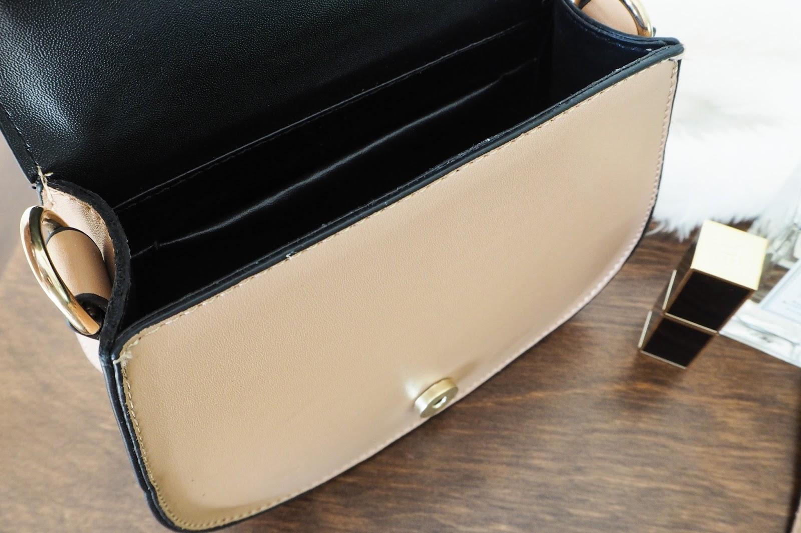Inside the Chloe Nile dupe handbag