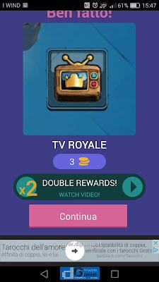 Indovina la carta Royale soluzione livello 123