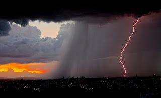 Previsão indica chuvas e trovoadas durante toda a semana em CG e cidades do Sertão