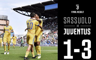 Sassuolo vs Juventus 1-3 Video Gol & Highlights