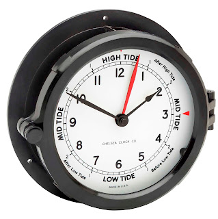 how to set high tide clock