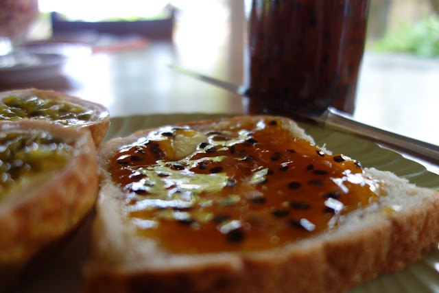 passion fruit jam, amuura, passionfruit