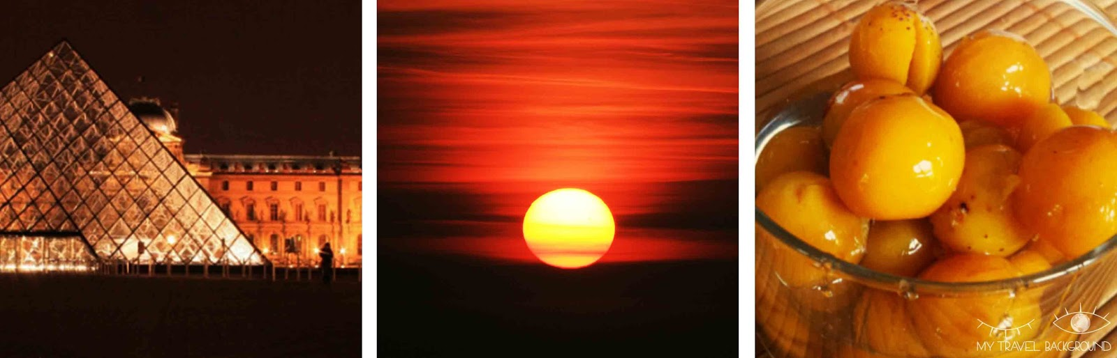 My Travel Background : La Terre, ce formidable arc-en-ciel ! Orange