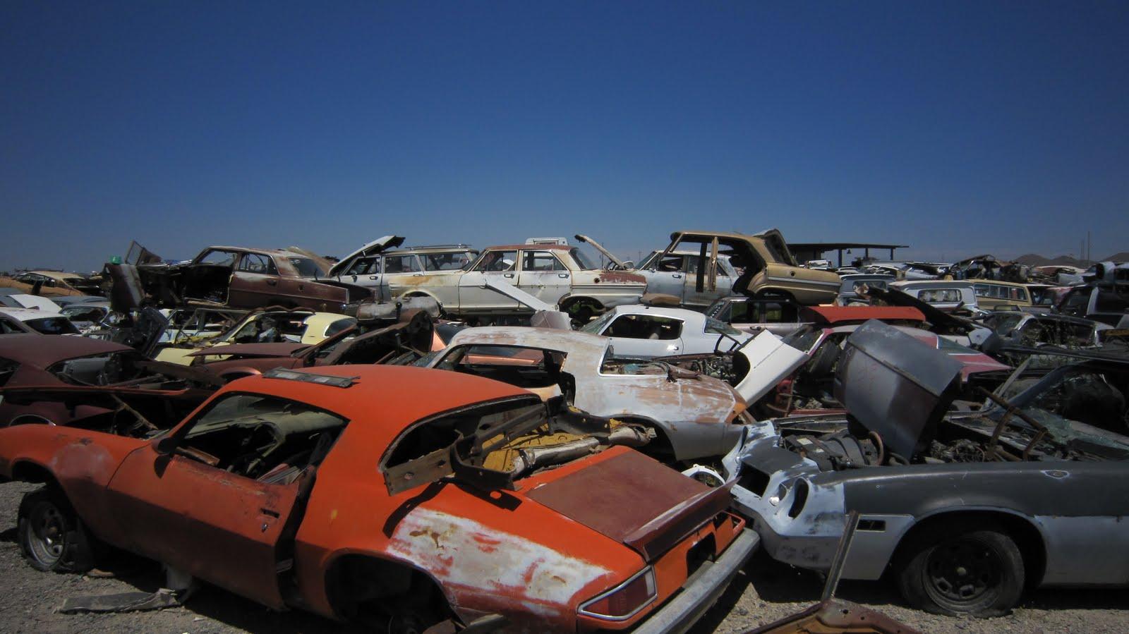 Wegi`s World: Visiting DVAP (Desert Valley Auto Parts)