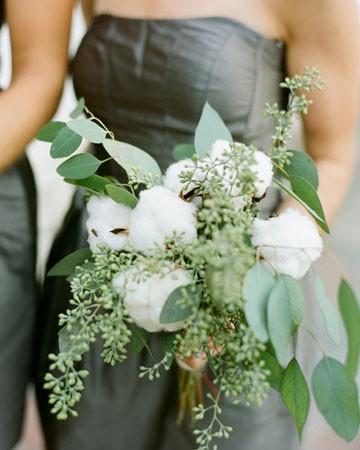 Eucalyptus And Peony Bouquet