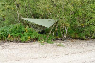 Hammock-camping.Loch-morar.jerven-bag.jerven-fjellduken