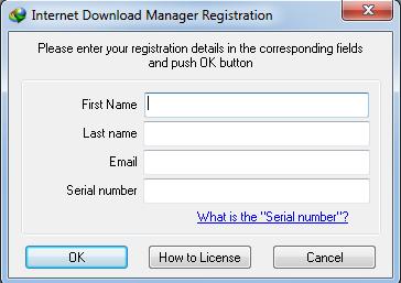 cara mengatasi IDM Fake Serial Number