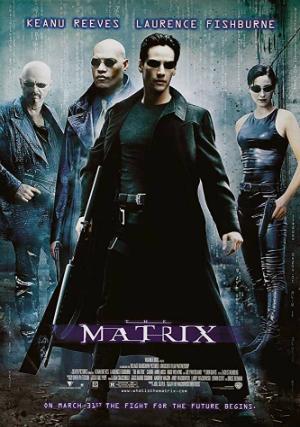 Poster The Matrix (1999) Full Movie Download 720p HD Dual Audio Hindi