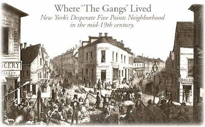 Bandas callejeras de Nueva York en el siglo XIX
