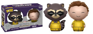 Guardians of the Galaxy: Rocket & Peter Quill Dorbz 2-pack.