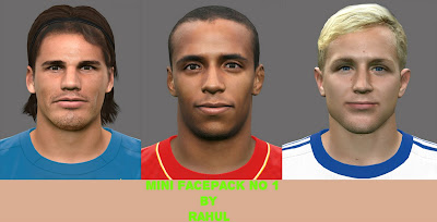 PES 2016 Mini Facepack No 1 by RAHUL