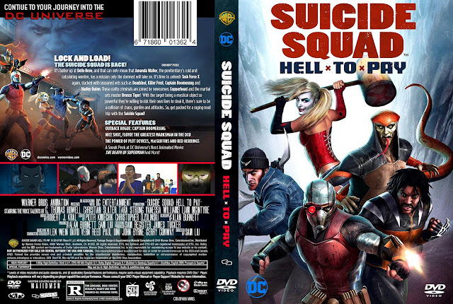 Suicide Squad Hell To Pay DVD Cover