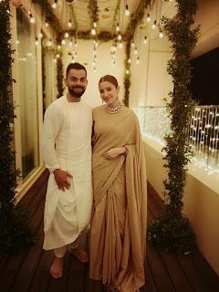 Anushka Sharma and Virat Kohli celebrate first Diwali after marriage. See pics