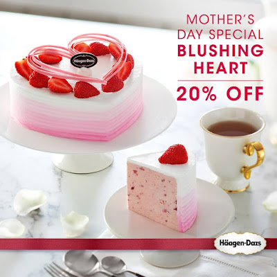 Haagen Dazs Malaysia Mother's Day Special Blushing Heart Discount Promo