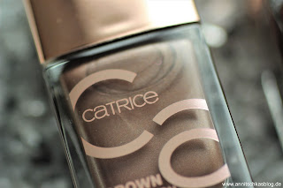 Review: CATRICE Update Produkte Herbst/Winter 2017 - Brown Collection - www.annitschkasblog.de