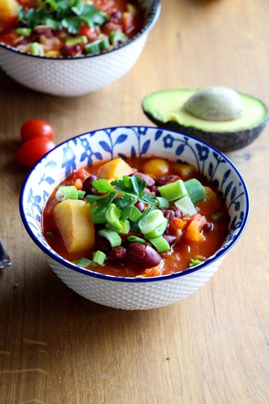 Süßkartoffel - Gemüse - Chili