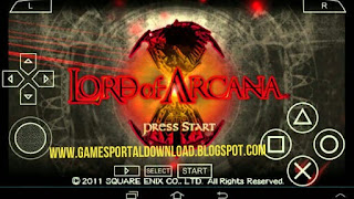 Lord of Arcana PSP ISO Compressed