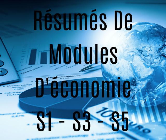 Résumé des Modules D'économie