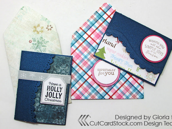 Quick Christmas Gift Card Holders