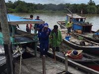 Tiga Kapal Pukat Trawl Asal Batu Bara Diamankan di Tanjung Beringin