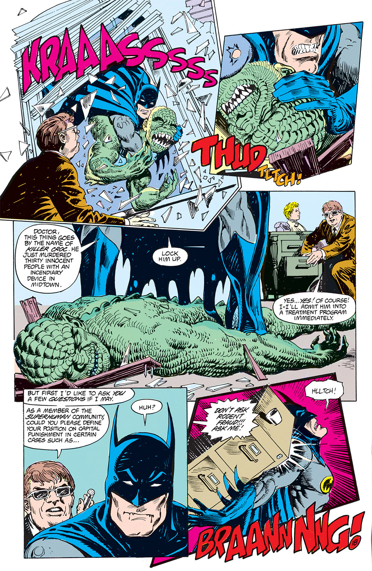 Swamp Thing (1982) Issue #66 #74 - English 18