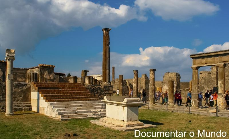 Templo di Apollo, Pompeia, Itália