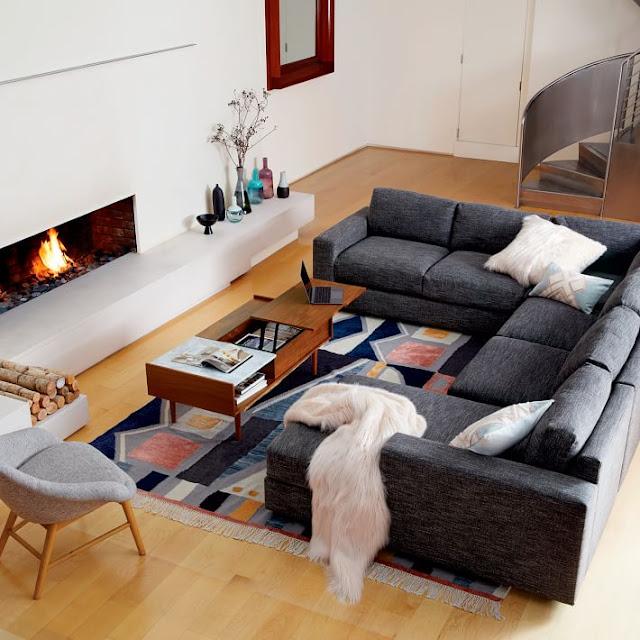 ruangan rumah sederhana