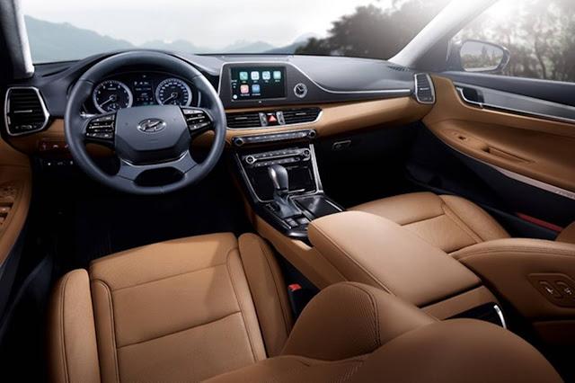 Novo Hyundai Azera 2017 - interior