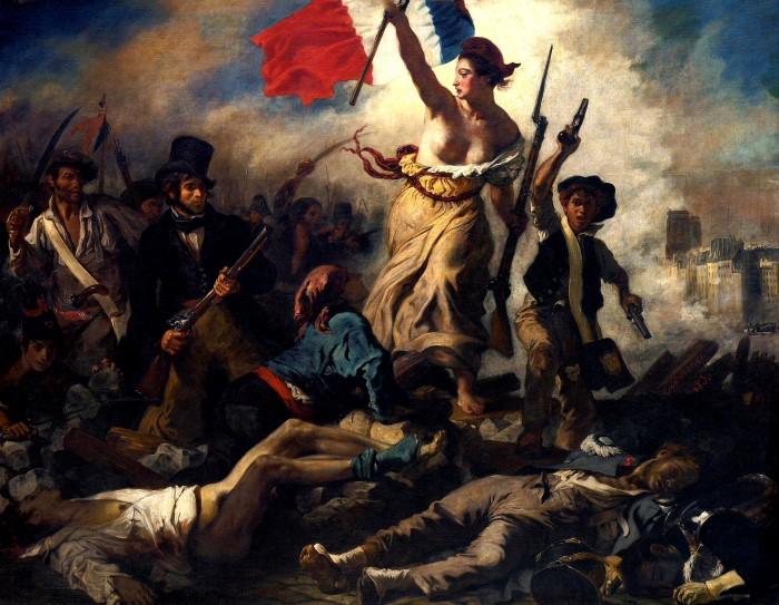 Свобода, ведущая народ. Эжен Делакруа