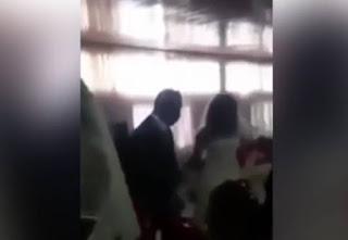 Χαμός σε γάμο – Η ερωμένη του γαμπρού εμφανίσθηκε με νυφικό