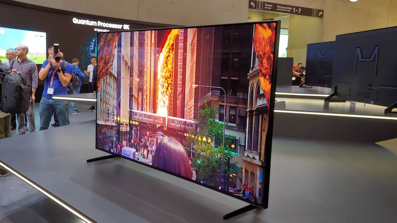 Samsung QLED 8K TV (Photo Credit: Tech Radar)