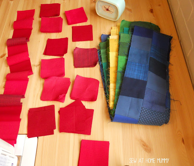 playing with pixels - sew at home mummy quilt ideas