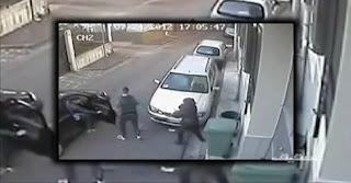 فيديو..كاميرا المراقبة رصدات فتاة مغربية شفرو ليها الصاك و قاوماتهوم