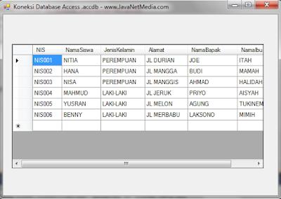 VB .Net - Cara Koneksi Database Access (.accdb)