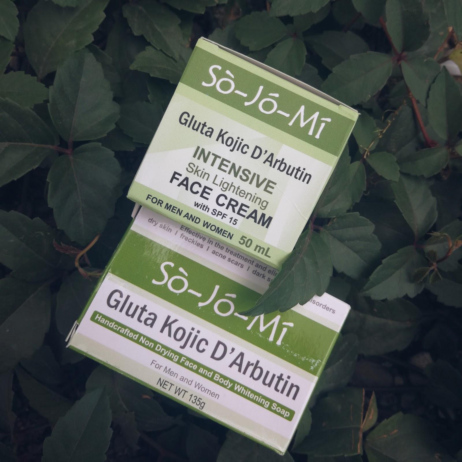 SoJoMi Gluta Kojic D'Arbutin Whitening Soap & Cream REVIEW
