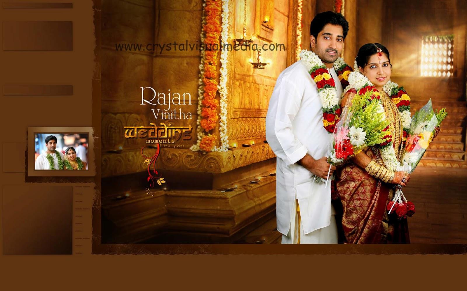 Kerala Wedding Album Cover Design Traffic Club