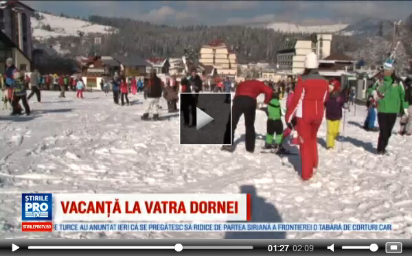 Reportaj Pro TV despre Vatra Dornei - VIDEO