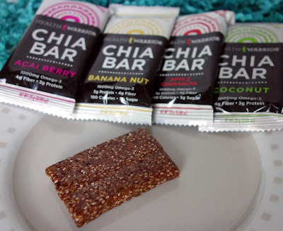 Health Warrior brand gluten-free chia bars