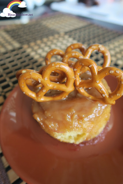 Salted Caramel Sticky Bun