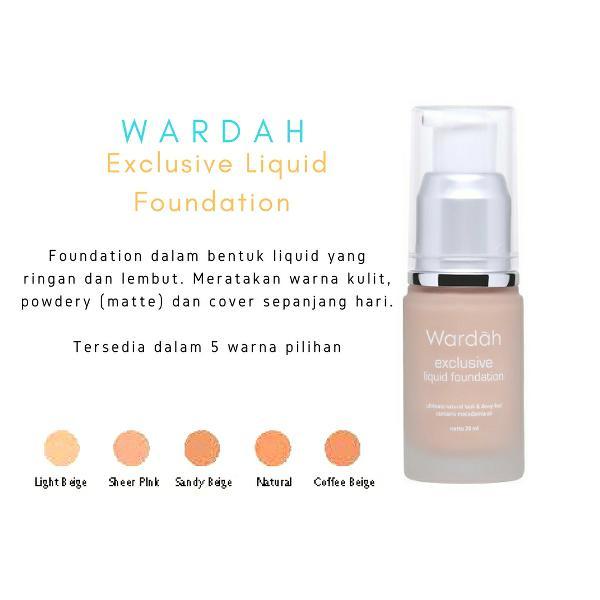 [Review] Wardah Exclusive Liquid Foundation Shade No 02