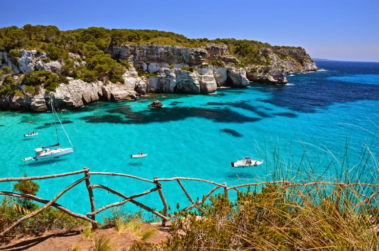 7. Menorca, Spain - Top 10 Unusual Beaches