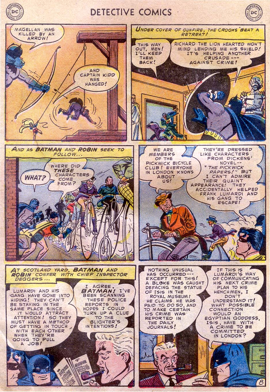 Read online Detective Comics (1937) comic -  Issue #196 - 10